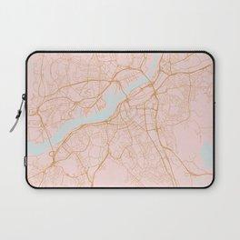 Gothenburg map, Sweden Laptop Sleeve