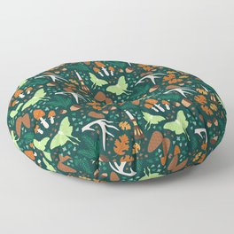 Nordic Forest Floor Pillow