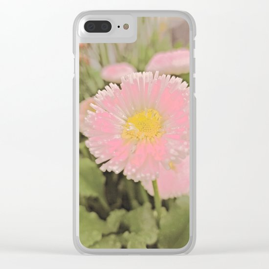 The Singular Beauty Of A Daisy Clear iPhone Case