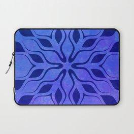 Blue Snowflake Laptop Sleeve