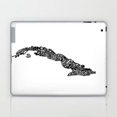 Typographic Cuba Laptop & iPad Skin