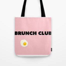 brunch club Tote Bag