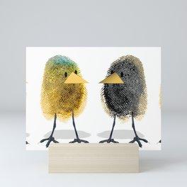 Two Scrambled Eggs - Different Mini Art Print