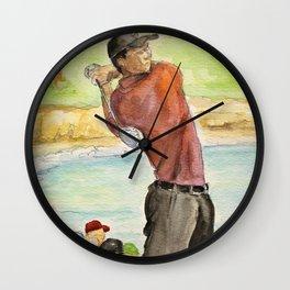 Tiger Woods_Professional golfer Wall Clock