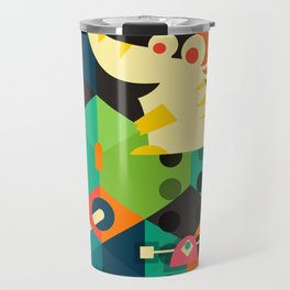 Poached Egg Party Travel Mug
