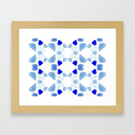 Sea Glass 4 Framed Art Print