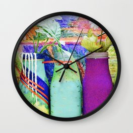 Healing Art Wall Clock