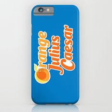 Orange Julius Caesar iPhone 6 Slim Case