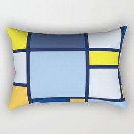 Bauhaus Abstract Pattern 03 Rectangular Pillow