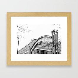 Lincoln Square  Framed Art Print