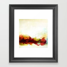 Abstract Splats by Friztin Framed Art Print