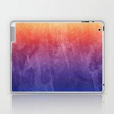 Purple, Pink, Orange Watercolor Gradient Laptop & iPad Skin