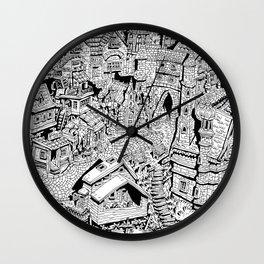 Capharnaüm City Wall Clock