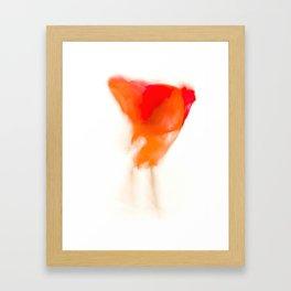 fusión disolución 7/14 Framed Art Print