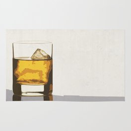 Old Scotch Whiskey Rug