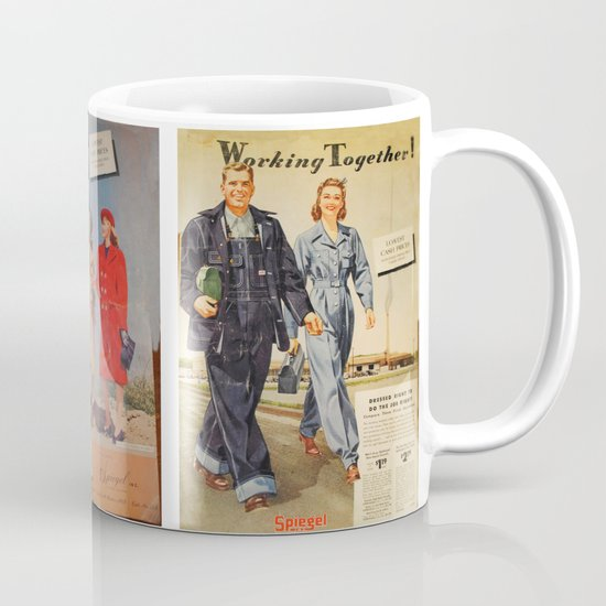 1942 Working Together Cover Mug