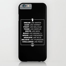 Black History iPhone Case