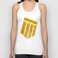 agents of shield Tank Tops featuring Shield by Emma Harckham