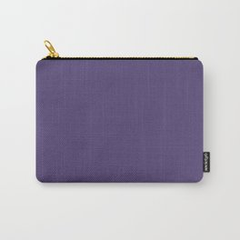 Gentian Violet Color Accent Carry-All Pouch