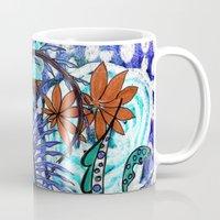 jungle Mugs featuring jungle by Marie Elke Gebhardt