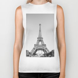 Eiffel Tower, Paris, France Biker Tank