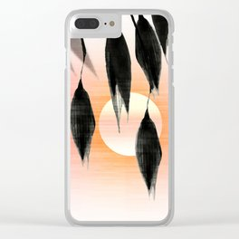 Beneath Shade, Sunglow Clear iPhone Case
