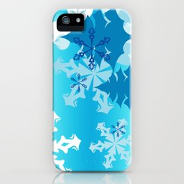 Winter Tree Holiday iPhone Case