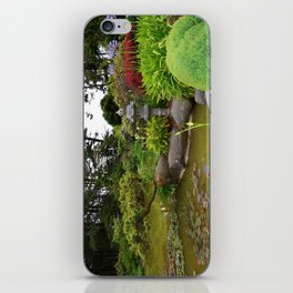 Japanese Garden Lantern iPhone Skin