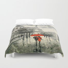 Paris Paris Duvet Cover
