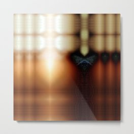 Finger light bounce, hereof clinging tub. Metal Print
