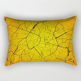Bruxelles Brussels map Rectangular Pillow