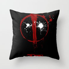 Deadpool. Throw Pillow