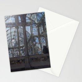 Pareja en el palacio de cristal Stationery Cards