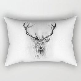 Red Deer Rectangular Pillow
