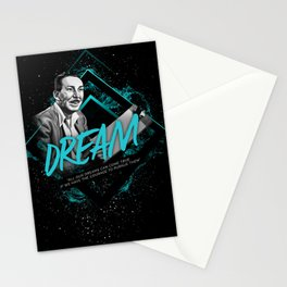 Walt Motivational Art and Quote Stationery Cards