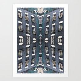 London patterns Art Print
