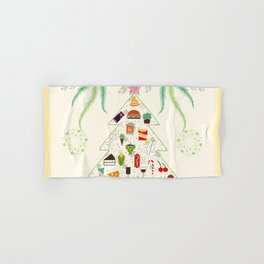 Christmas Hand & Bath Towel