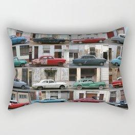 Cuba Cars - Horizontal Rectangular Pillow