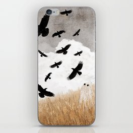 Walter and The Crows iPhone Skin