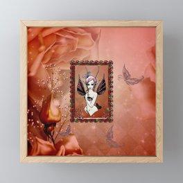 Little fairy Framed Mini Art Print