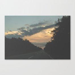 Carretera de Valladolid Canvas Print