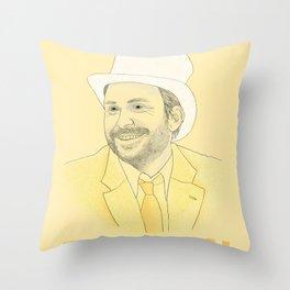 Day Man Throw Pillow