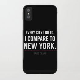 New York Is the Only City for Me iPhone Case