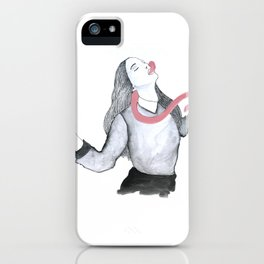All the bad things iPhone Case