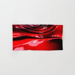 Cherry Syrup on Ice Cream Hand & Bath Towel