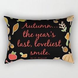 Autumn Quote Bryant Rectangular Pillow