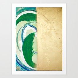 Create and Vanish Art Print