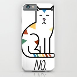 No. iPhone Case