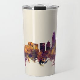Charlotte North Carolina Skyline Travel Mug