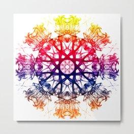 Smoke Mandala 2 Metal Print